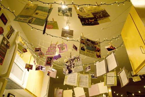 A Beautiful Marriage Proposal Idea  Hanging Photos And Love