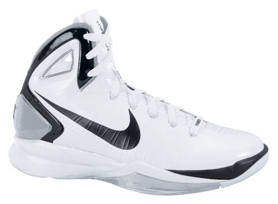 19e0cae59 Nike Hyperdunk 2010 Womens TB White Black Metallic Silver Black ...