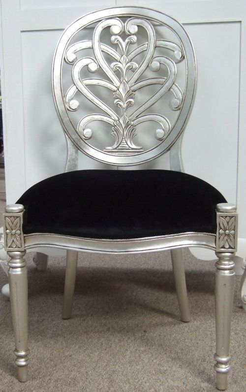 Silver Leaf Chair