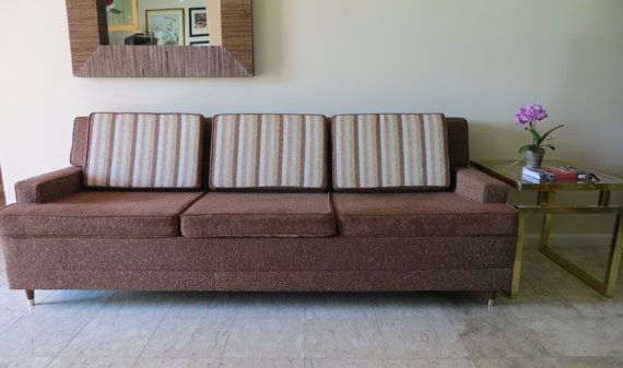 Excellent Mid Century Modern Rare King Sofa Sleeper By Soulfulvintage Pdpeps Interior Chair Design Pdpepsorg