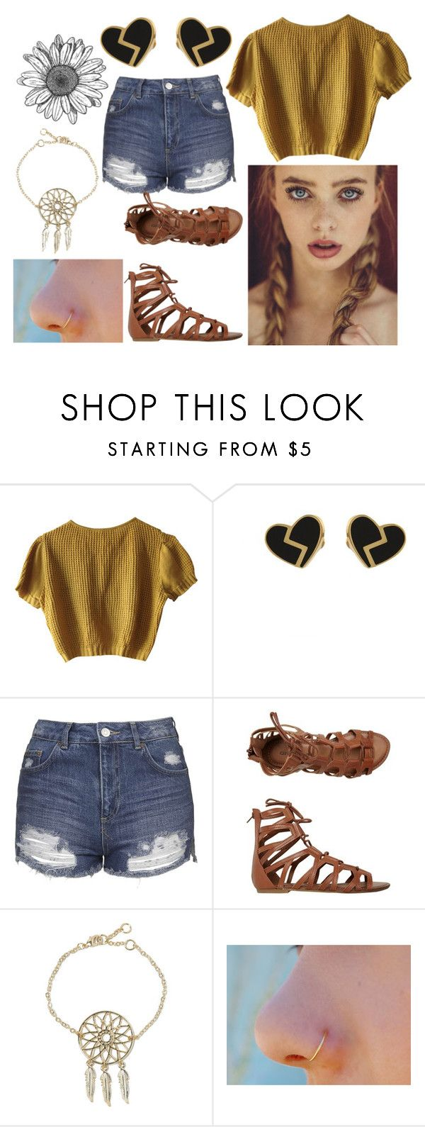 """""""Daisy"""" by brooky338 ❤ liked on Polyvore featuring Schumacher, Marc by Marc Jacobs, Topshop and O'Neill"""