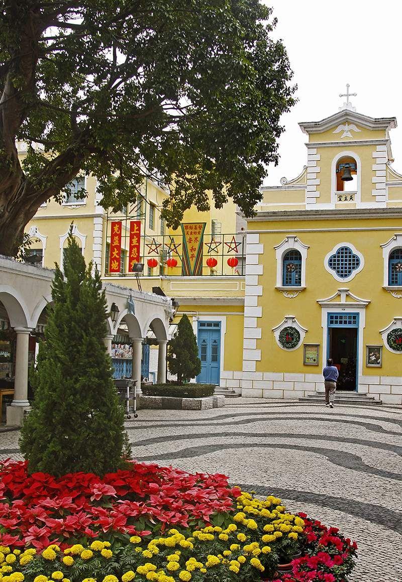 Church Square Coloane 1518 #asia #visitmacau #travel2next