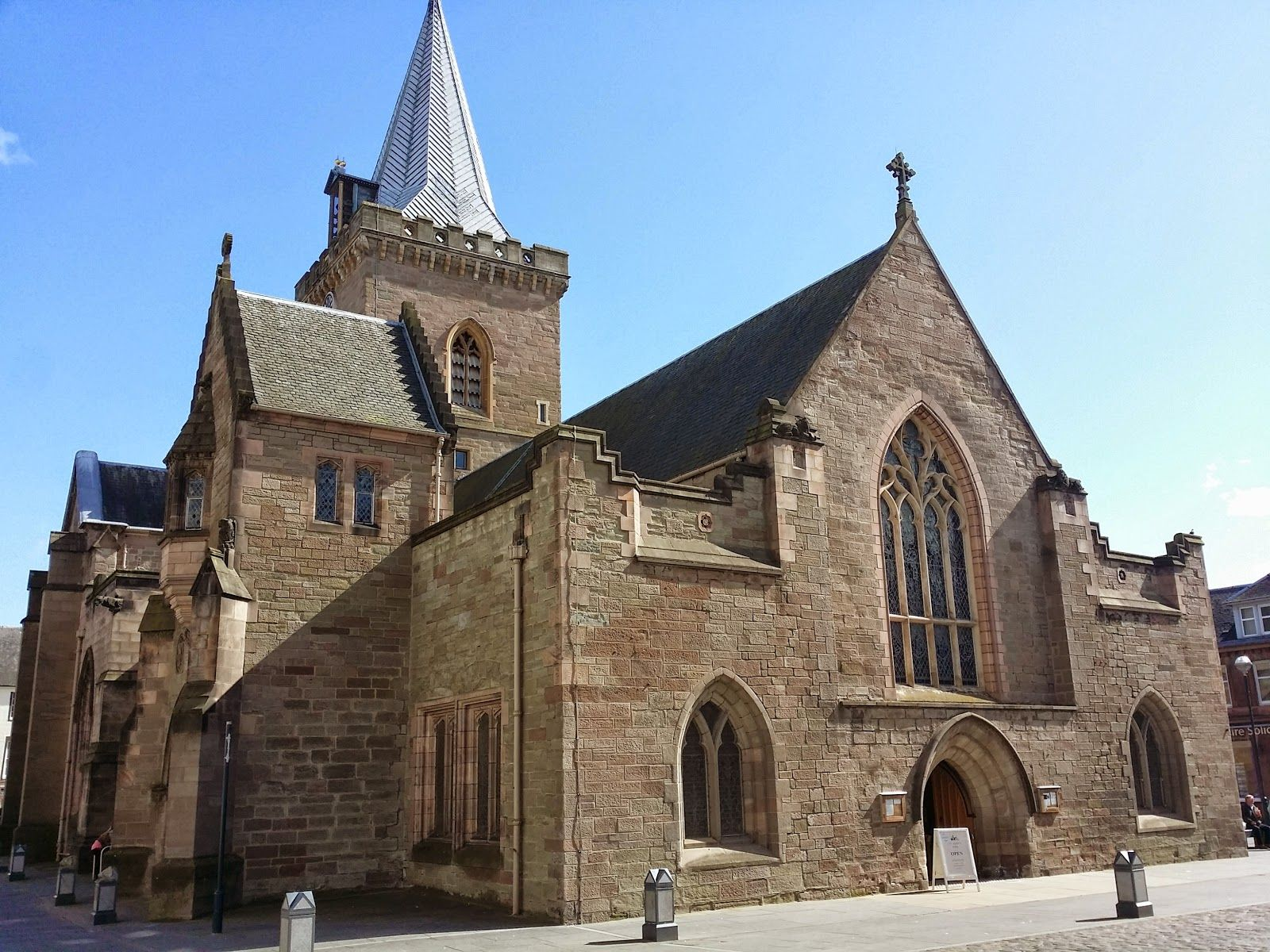 St Johns Kirk the Oldest Building in Perth | Schotland
