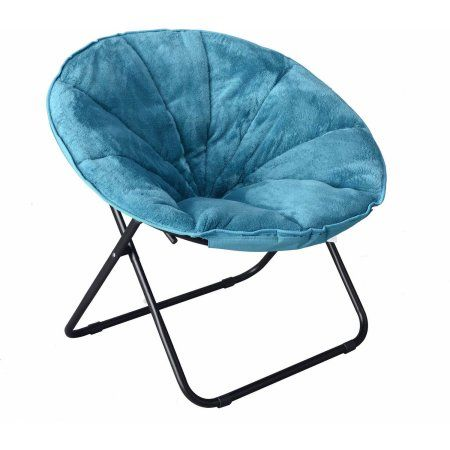 Free Shipping On Orders Over 35 Buy Mainstays Plush Saucer Chair