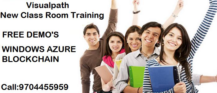 Visualpath institute starts new classroom training batches