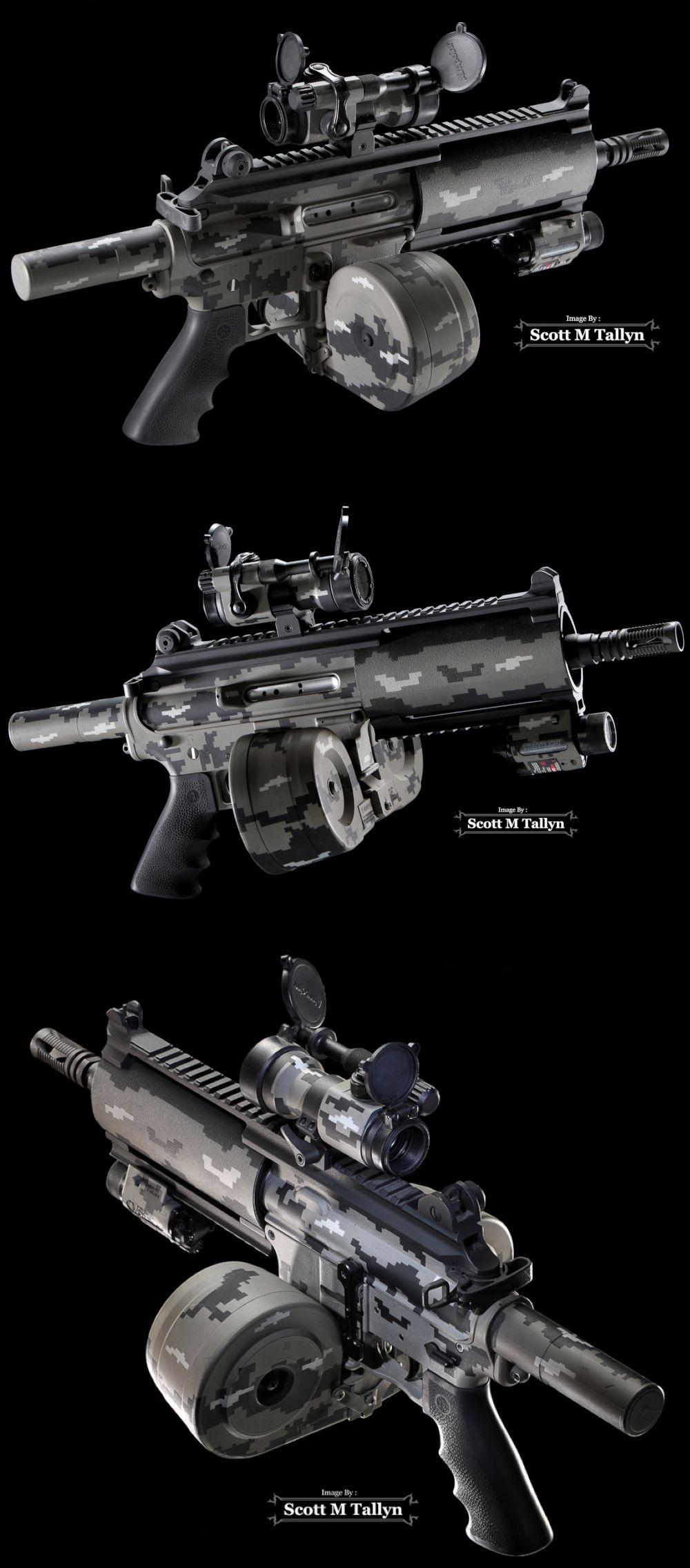 Bushmaster Carbon-15 Pistol Type: Custom Bushmaster Carbon