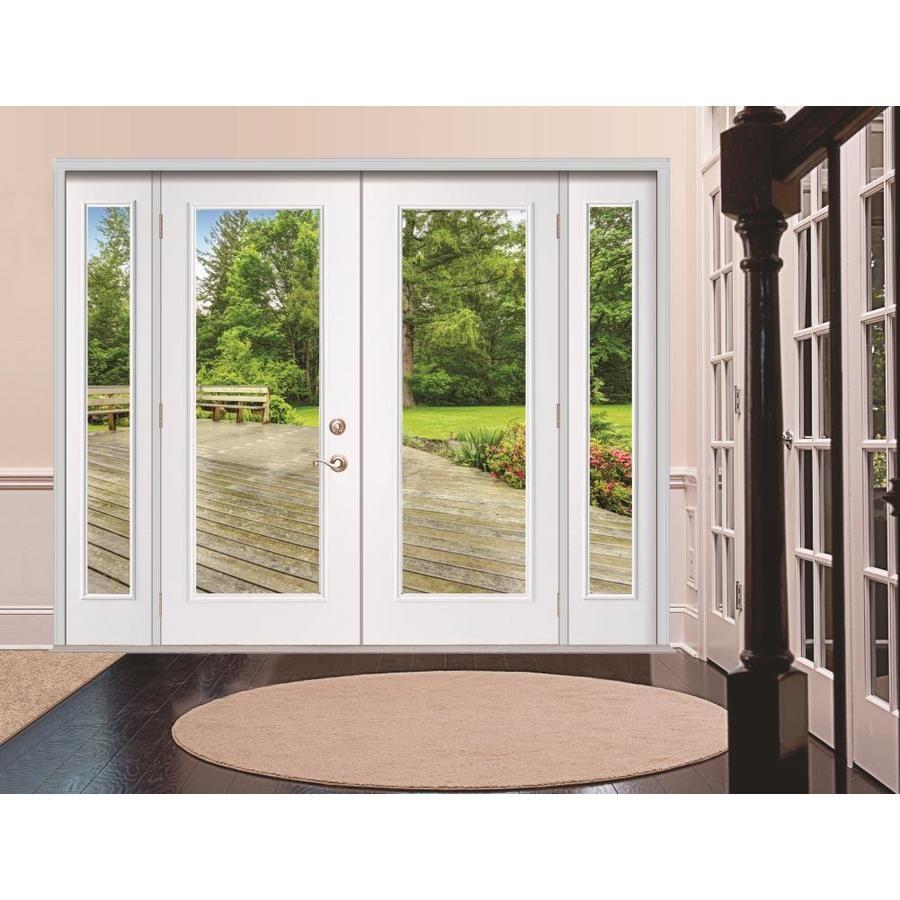 Reliabilt Steel Patio Door Clear Glass Steel Left Hand Inswing