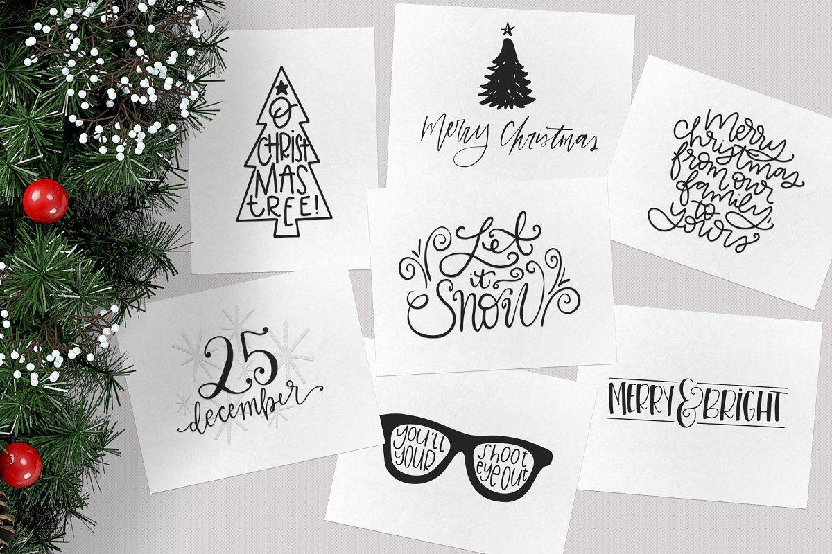 Christmas Symbols Font Volume 2