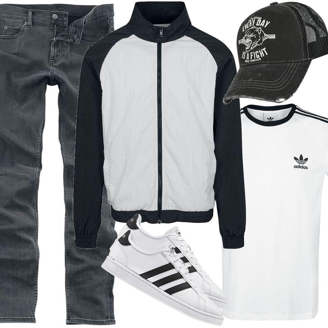 Urban Classics Übergangsjacke Outfit für Herren zum