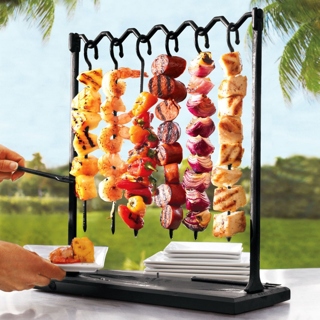Delightful Fatheru0027s Day Gift Ideas: Sur La Table® Skewer Station And Skewers