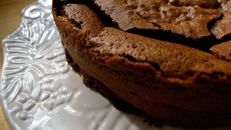 Ciasto Czekoladowe Ze Spekanym Wierzchem Przepis Z Programu