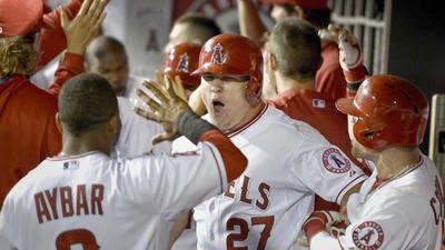 the other paper: Mike Trout's grand slam helps power Angels over Wh...