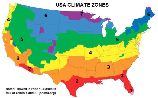 Usa climate zones naima arquitectura exticaarquit paisagista usa climate zones naima sciox Gallery