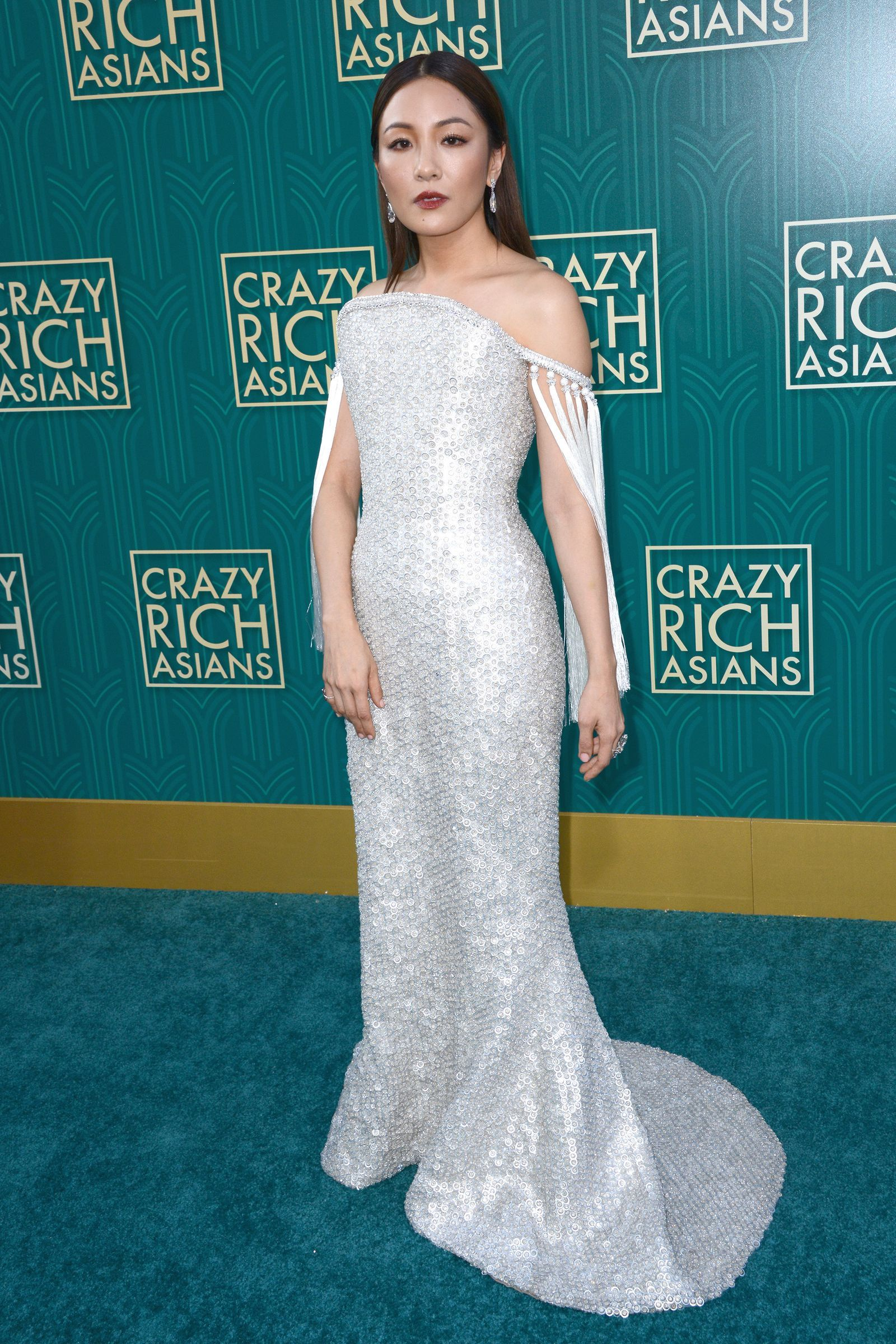 Constance Wu and Crazy Rich Asians co-star Gemma Chan