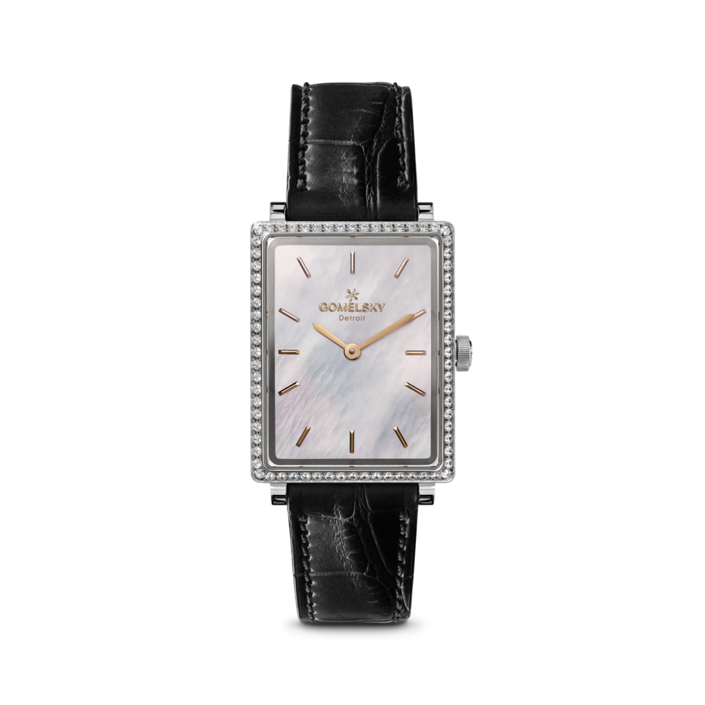 54c5d2623 GOMELSKY SHIRLEY WATCH - MOTHER OF PEARL | The Shirley Watch ...
