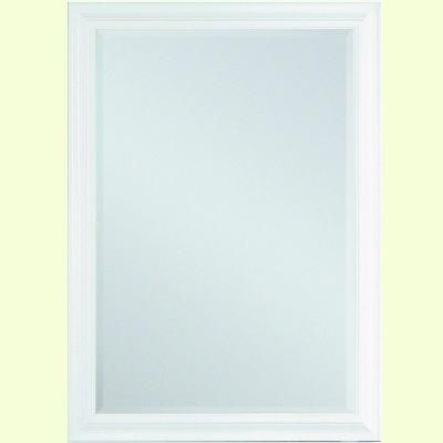 Erias Home Designs Moonlight 29 in. x 41 in. Beveled Edge Mirror in ...