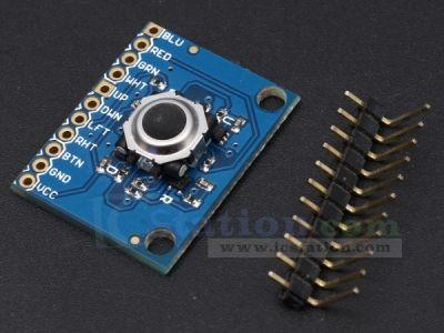 ICStation Blackberry Trackball breakout board - Function