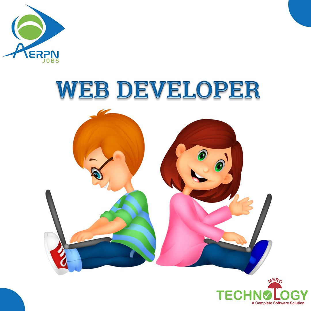 """Vacancy for """"WEB DEVELOPER"""" No registration charges! No"""