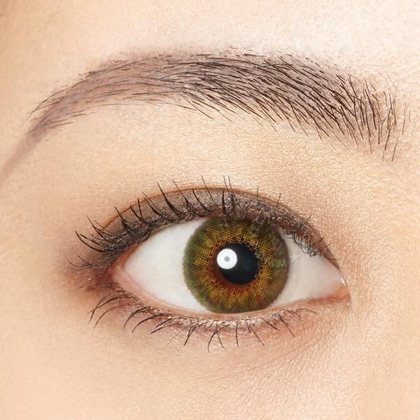 freshlook colorblends pure hazel contact lens colored contacts