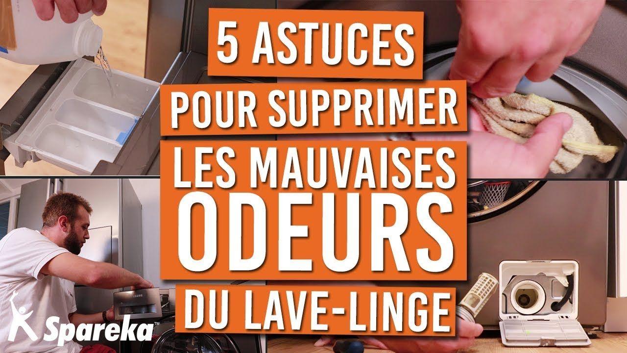 5 Astuces Pour Supprimer Les Mauvaises Odeurs De Votre Lave Linge Youtube Odeur Lave Linge Lave Linge Mauvaise Odeur Lave Linge