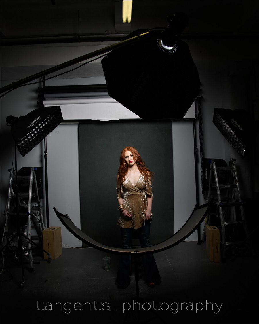 Headshot Photography Lighting Setups In The Studio