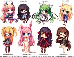 And more chibis! by Hyanna-Natsu