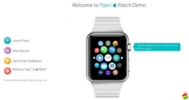 [Curiosidad] Ya puedes probar la interfaz del Apple Watch