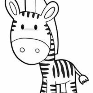 Cute Zebra Coloring Page Zebra Coloring Pages Bible Coloring