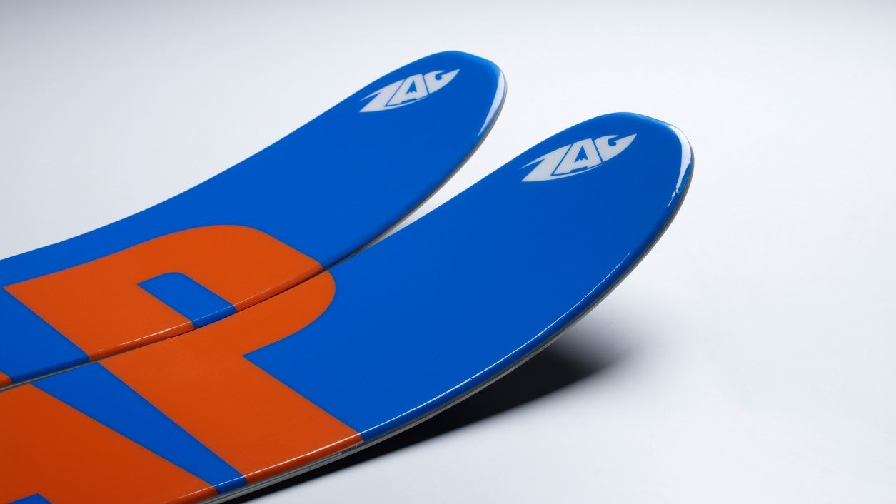Be Poles Zag Zag Skis La Free Ride Company Made In Chamonix