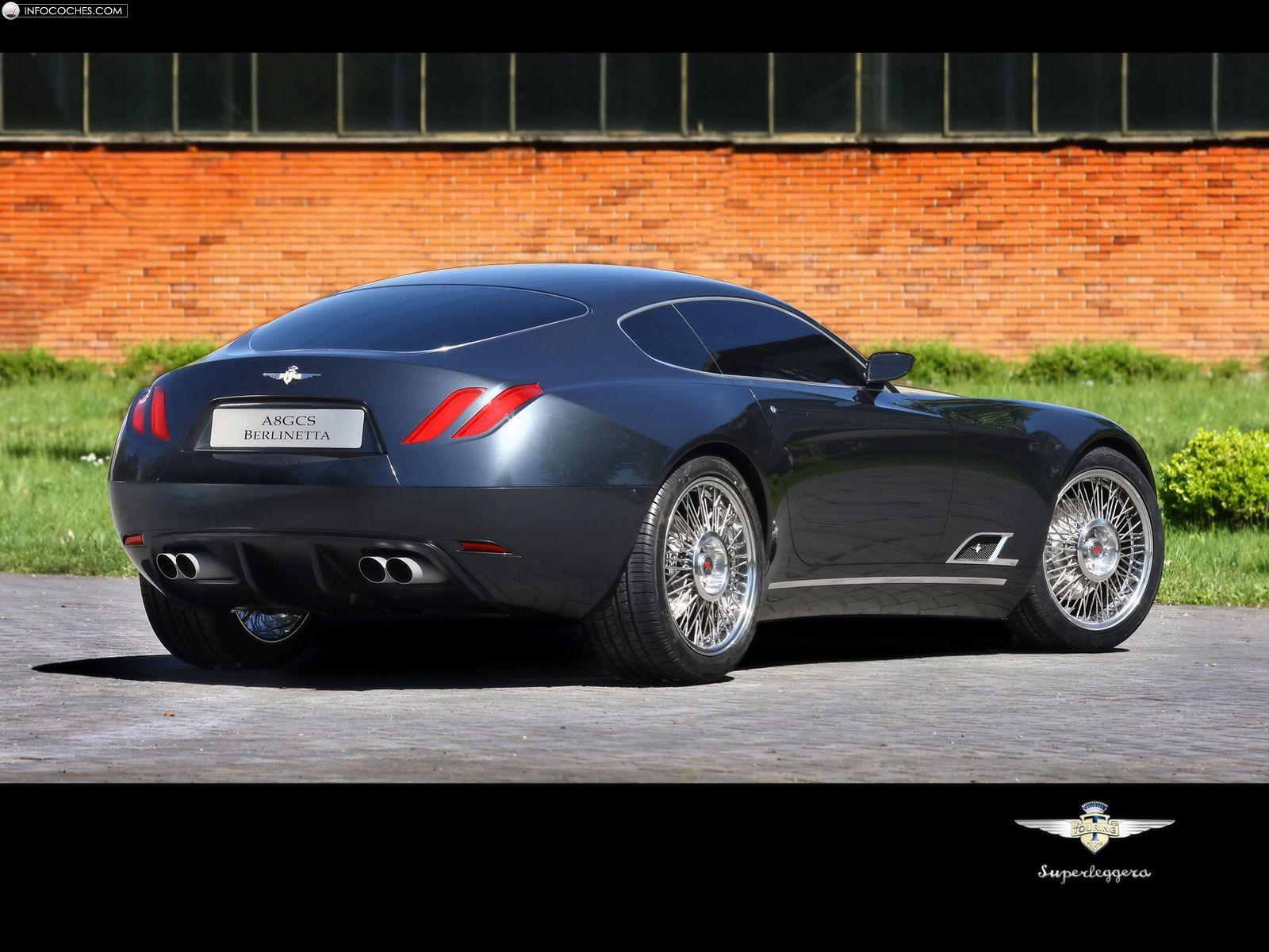Attirant Vehicle · Carrozzeria Touring Superleggera A8GCS Berlinetta Touring Maserati  Coupe Gransport