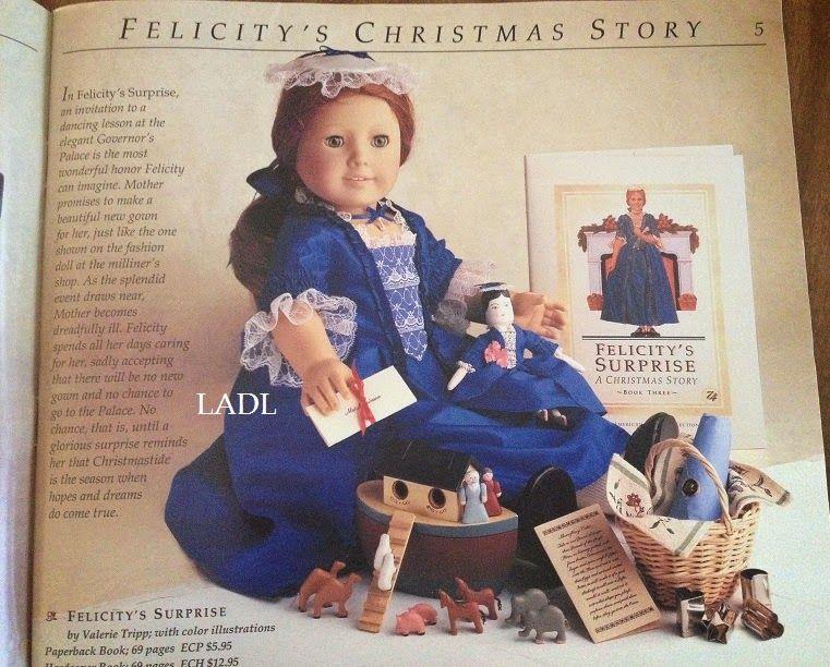 American Girl doll Catalog October 2005 Felicity/'s New Movie Marisol