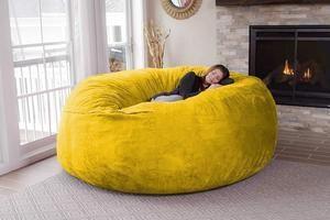 Bean Bag Chair Big Sofa Portable Living Room | Big sofas ...