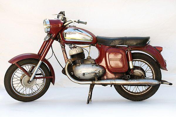 A Classic Jawa 350 Motorcycles Motorbikes Czechia Classic
