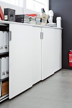 studio storage / Ikea GALANT cabinet | one day, a studio ...