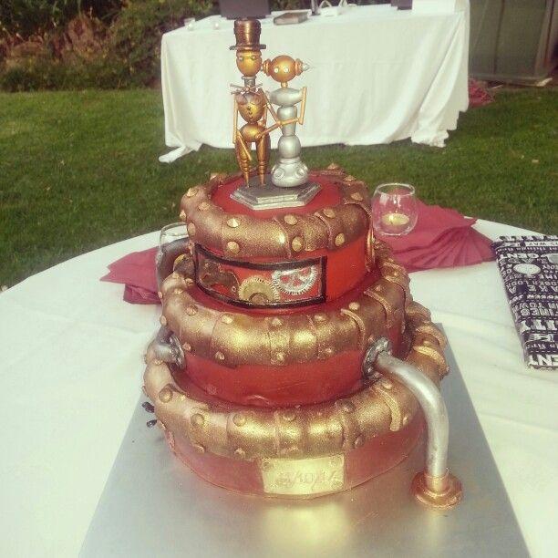 Steampunk cake by Lawria Danhauser