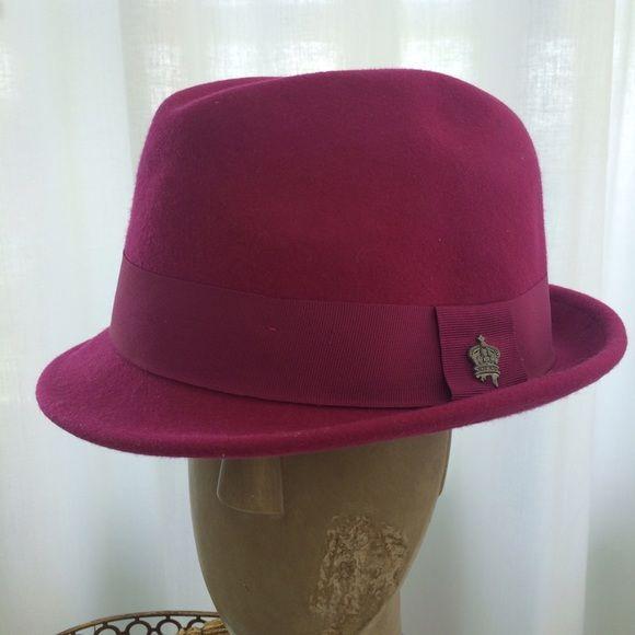 Tony Merenda Fuscia Hat Christys Hats By Tony Merenda Accessories Hats
