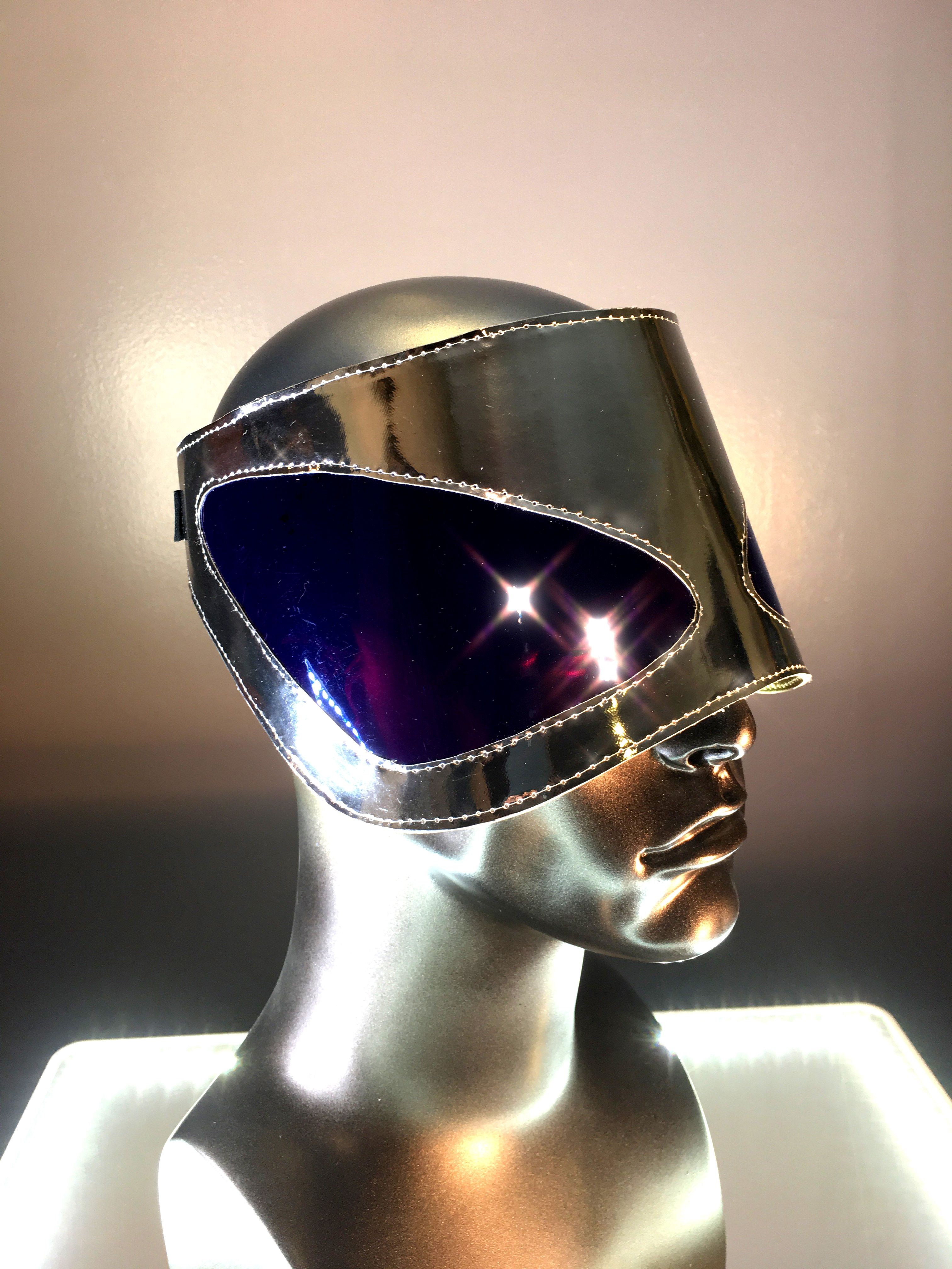 Alien Chrome Costume Mask
