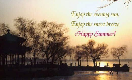 Summer Breeze Quotes And Pics | Enjoy The Evening Sun, Enjoy The Sweet  Breeze,