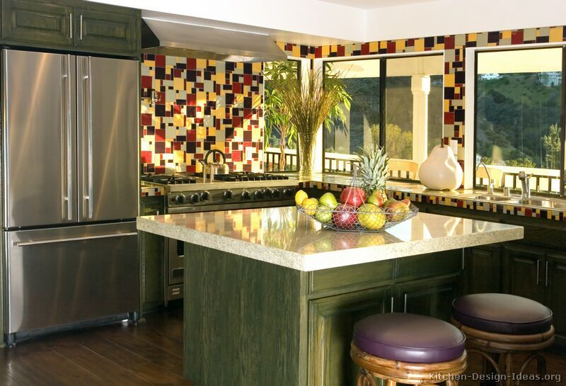 Mexican Kitchen Design - from Kitchen-Design-Ideas.org | Kitchen ...