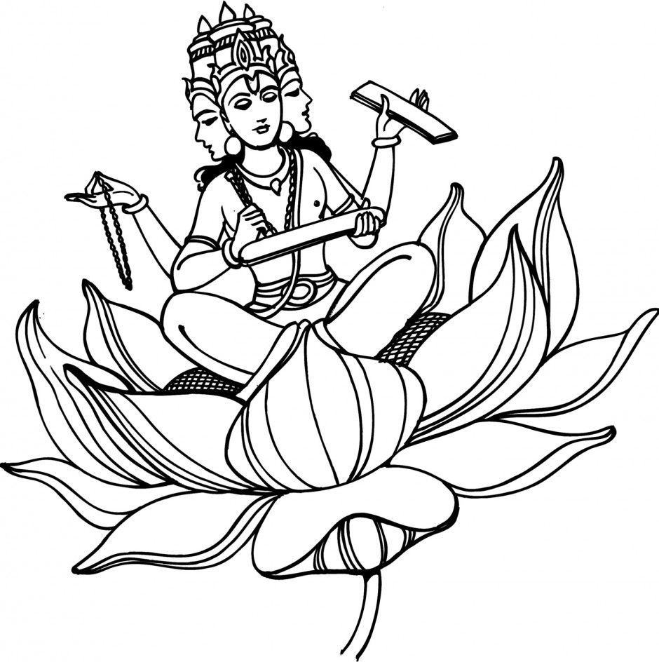 Hindu Coloring Pages Coloring Pages Pictures Imagixs Boeddha Spiritueel