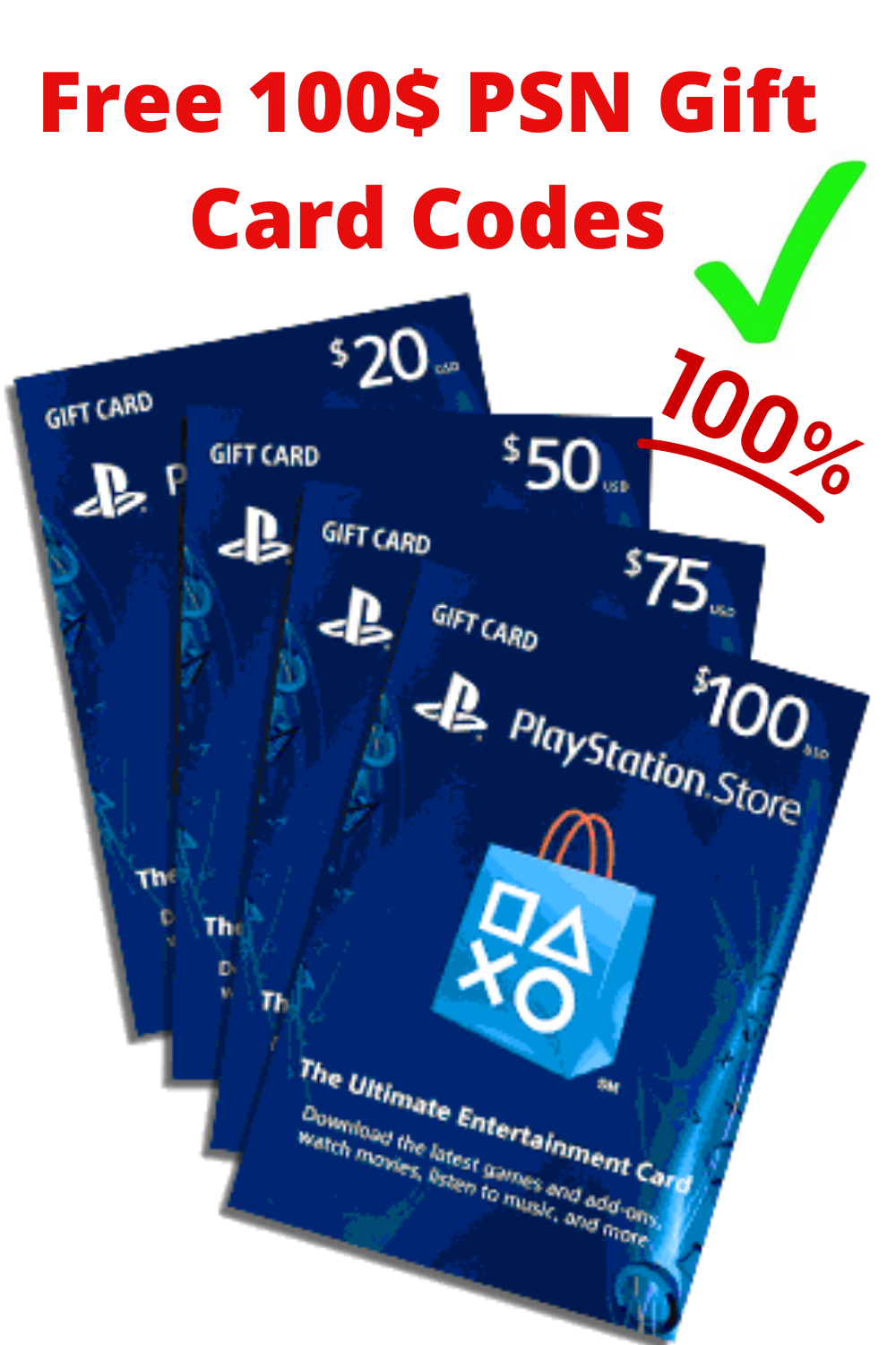 Free Playstation Psn Gift Card Code Generator Online 2020 Free Psn Codes Without Any Survey Ps4 Gift Card Itunes Card Codes Free Itunes Gift Card