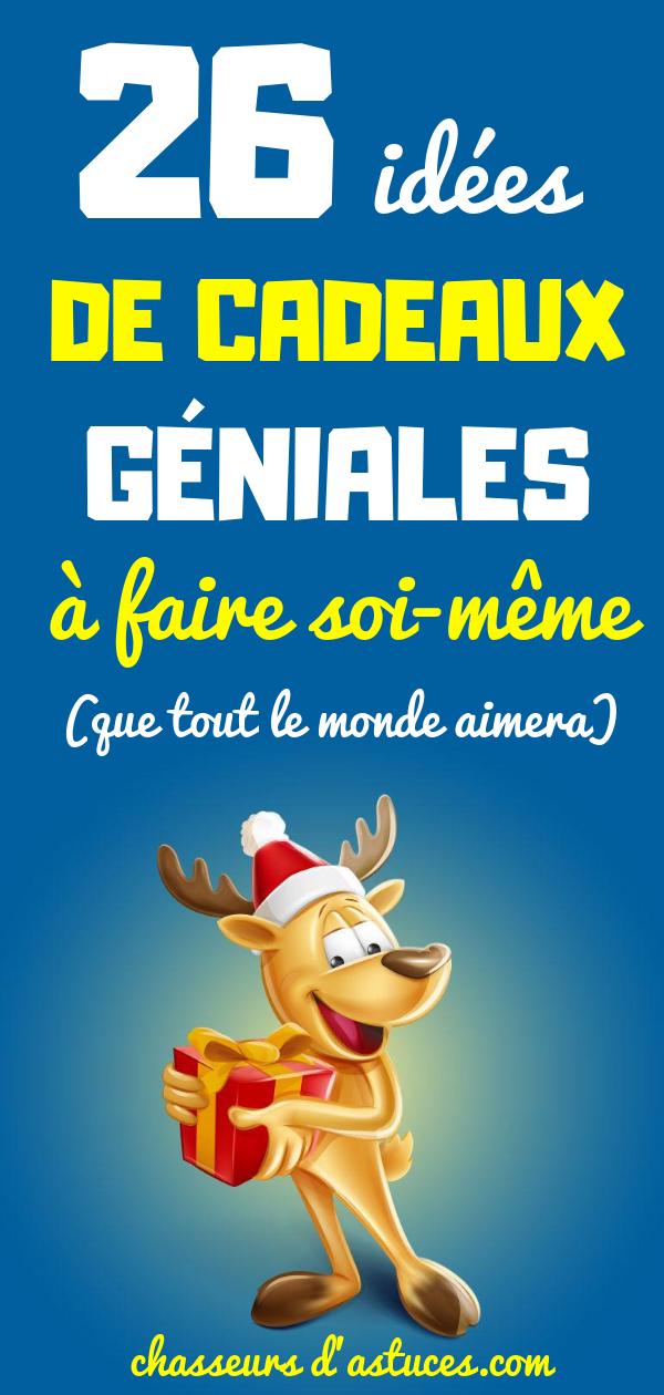 26 Faciles Idees De Cadeaux A Faire Soi Meme Que Tout Le Monde
