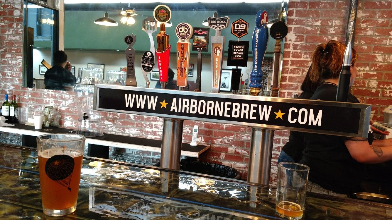 Airborne Brewery In Hay Street In Fayetteville Nc A New Place To
