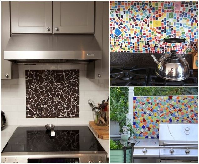 How To Decorate Tiles Why Not Use Broken Unwanted Tiles And Turn Them Into Art And