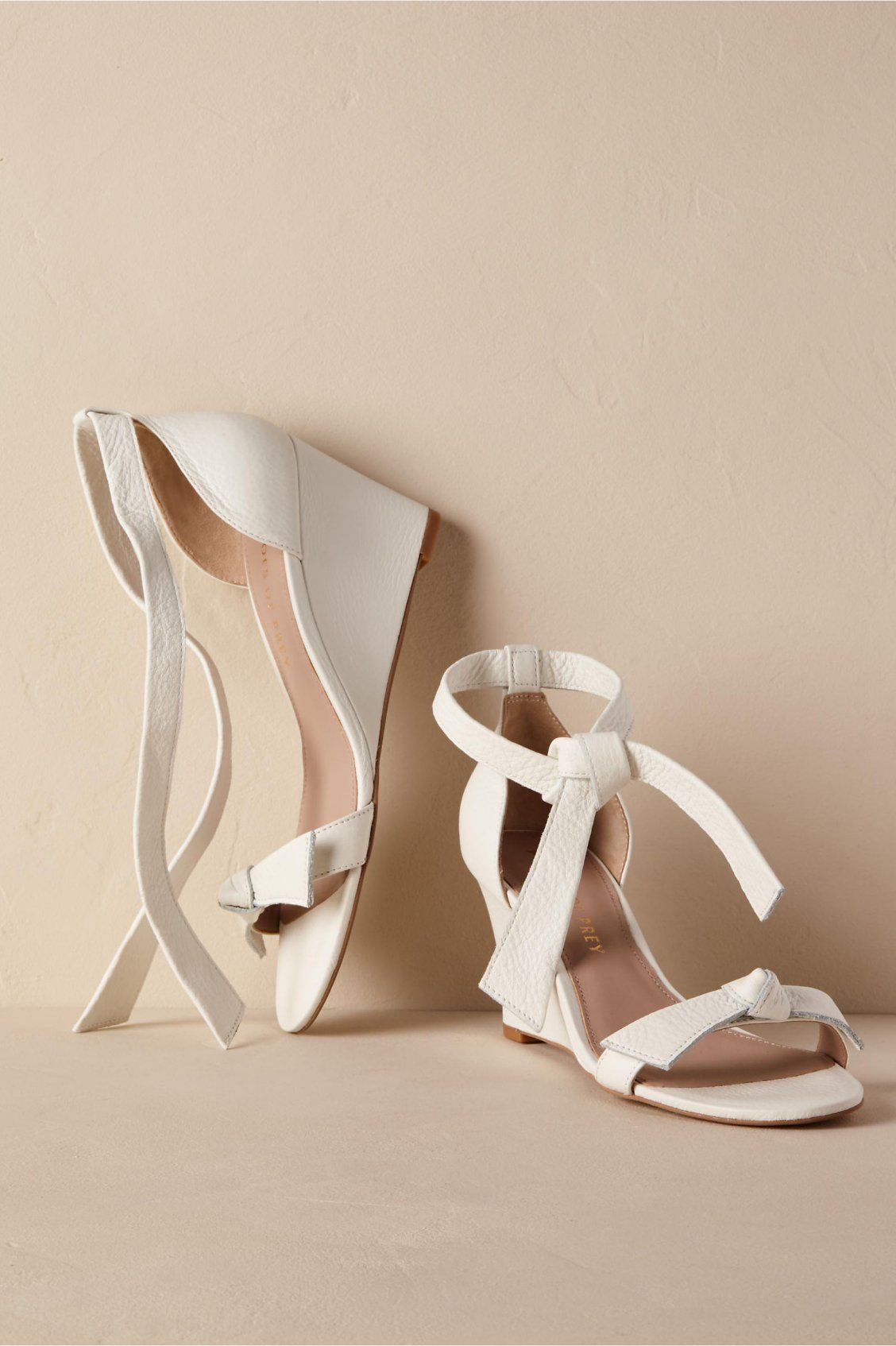 54686a8581d Mariposa Wedge Heels from BHLDN