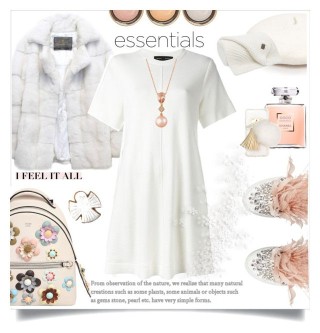"""""""Snow white"""" by wuteringheights ❤ liked on Polyvore featuring Lilly e Violetta, Proenza Schouler, Fendi, LE VIAN, By Terry, Miu Miu, Ashlyn'd and New Directions"""