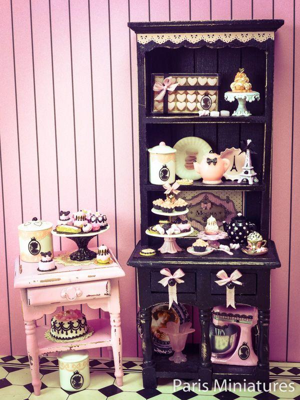 """Paris Miniatures: Presenting """"Boudoir Chic"""", a pre-Valentine collection!"""