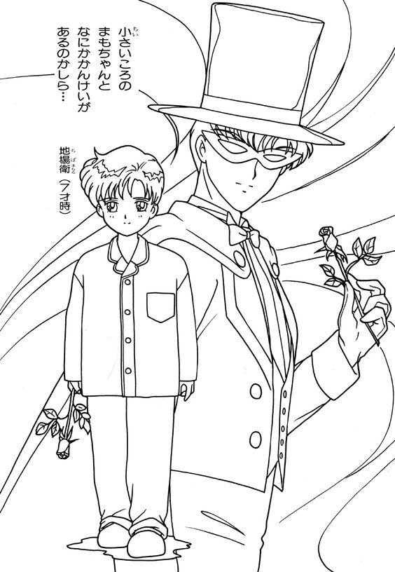 pin von stefan spahn auf malvorlagen  anime helden