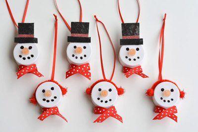 50 Amazing Craft Ideas For Seniors Feltmagnet Crafts Snowmen