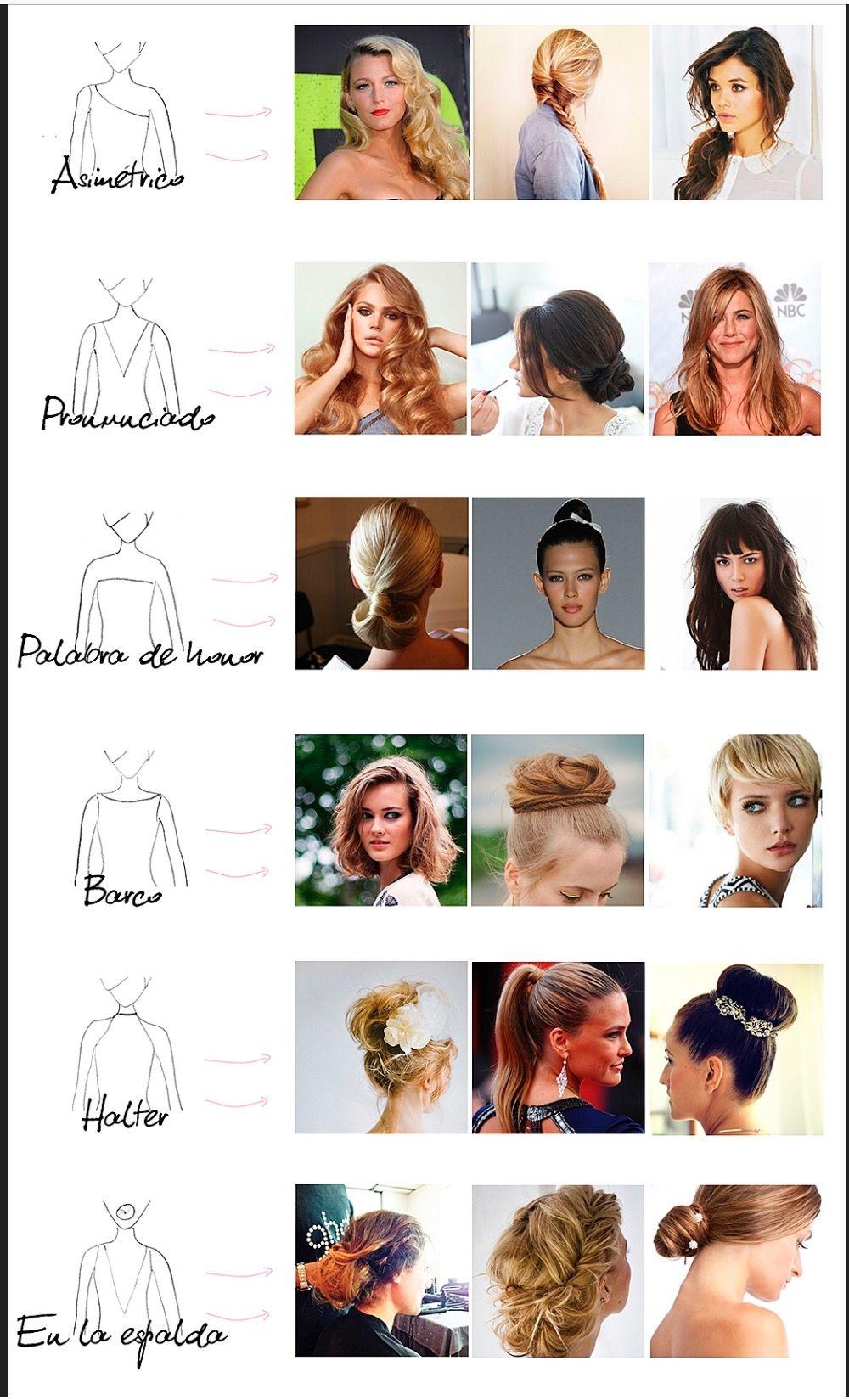 454e7ecaa1 Elige tu peinado de novia según el escote de tu vestido | Peinados ...